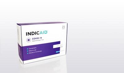 La prueba rápida de antígenos INDICAID de PHASE Scientific para la COVID-19 recibió autorización de la FDA para uso de emergencia