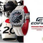 Casio lanza el modelo EDIFICE en colaboración con Honda Racing, con el color «Championship White»