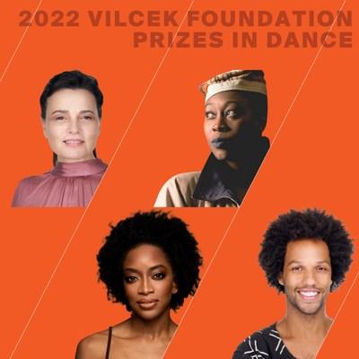Los Premios Fundación Vilcek 2022 en danza se otorgan a Soledad Barrio, Tatiana Desardouin, Tamisha Guy y Leonardo Sandoval. (PRNewsfoto/The Vilcek Foundation)